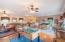 Traditional Oak Floors & Modern Fixtures