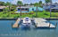 Boat slip with lift and low dock area for kayak, canoe, or paddle board launching!