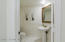 Hallway Half Bath.
