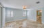 Master with ensuite bathroom and walk in closet