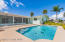 Easy access to the pool and dock area...