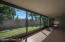 Large screened in patio