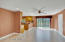Family Room & Kitchen Nook /with sliders to side patio