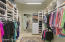 Ladies closet and built ins