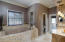 Travertine flooring & accents