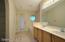 Separate Shower and Garden Tub. Exterior Door as well!