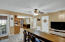 Family Rm / Flex Space Off of Kitchen & Screened Porch