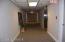 Interior hallway of 5th floor