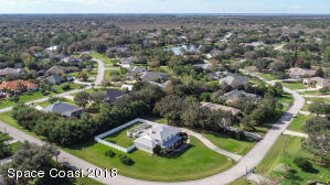 Aerial 3420 Shady Run east front view