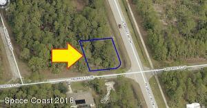 201 Corner Lot On Frederick Street, Palm Bay, FL 32908