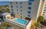 4th floor roof top pool and adjoining clubhouse provides privacy and convience.