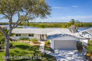 Cocoa Beach waterfront home