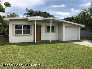 Nice beachside concrete block bungalow with new roof, windows and soffit.