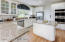 Cooking Island, Granite countertops