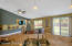 Kitchen Opens into the Family Room