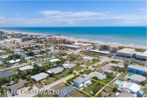 Just a few houses from the beach...Fantastic 2009 rebuilt 5 BR 3 BA beach oasis with easy beach access, nearby shops, and restaurants. Located in the heart of World Famous Cocoa Beach!