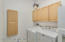 Large Laundry with extra flex room space