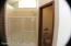 Master shower and water closet