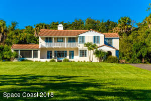 """The Montecito"" at 3543 Indian River Drive • Cocoa, Florida"