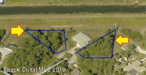 565-596 Two Lots On Ivy Court NW, Palm Bay, FL 32907