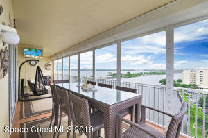 Beautifully renovated riverfront 3 BR 3 BA PENTHOUSE residence w/ 2 terraces feels like a home in the sky...