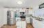 Updated Kitchen, Stainless appliances 7 eye catching backsplash!