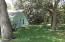 Fully fenced yard with room for RV, boat and trailer
