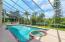 Salt water pool & spa