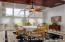 Custom hardwood ceiling