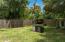 Wood Patio Fence