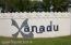 The Xanadu wall at the Entrance to the building on Hwy. A1A