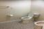 Commode and Bidet in Master Bathroom