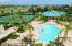 Club house, heated pool, spa and tennis courts