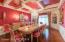 Coffered Ceilings & Crystal Chandeliers