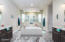 Double Walk-In Shower and Beautiful Tub