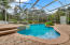 """Pool and hot tub. """"Planter"""" on the right edge of pool originally used as a """"coy pond."""""""