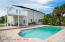 Beautiful paver pool deck