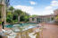 Oversized pool paver patio