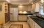 Kitchen With Brick