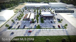 Conceptual Site Plan showing both available 1.4 acre parcels