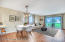 Living/Dining Room Staged