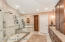 Shower w/2 shower heads, jetted tub, private WC, double sinks totally upgraded