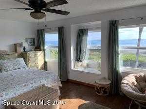 Spectacular ocean view from upstairs bedroom