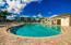 Island pool and cabana