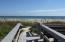 Deeded, private crossover to beach