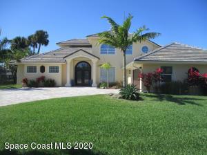 134 Island View Drive, Indian Harbour Beach, FL 32937