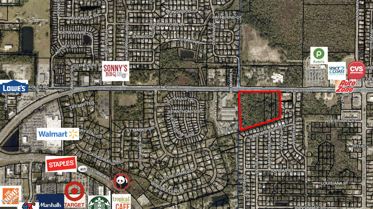 Listing Details for 2305 Cheney Highway, Titusville, FL 32780