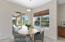 breakfast nook with virtual staging