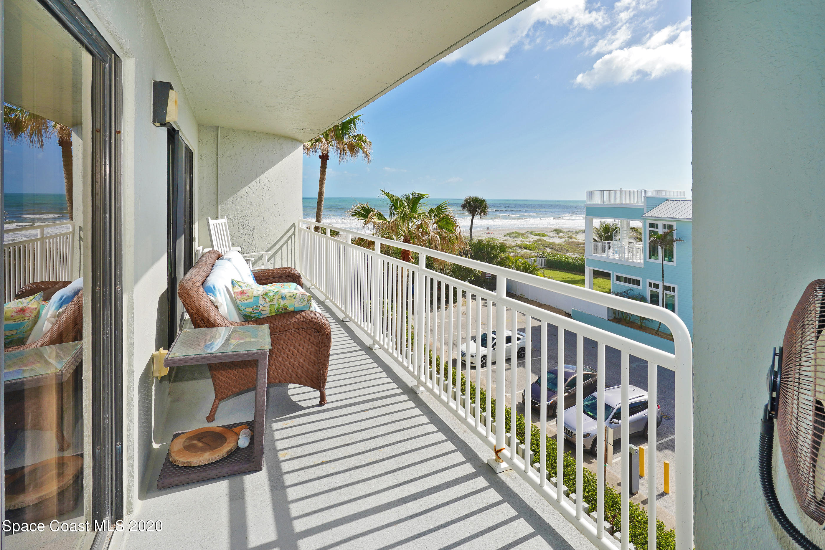 Balcony has SE Ocean View