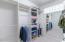Walk in with Laundry bin